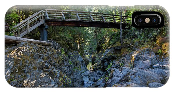 Opal Creek Bridge IPhone Case