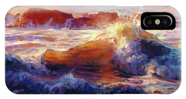 Pacific Ocean iPhone Case - Opalescent Sea by Steve Henderson