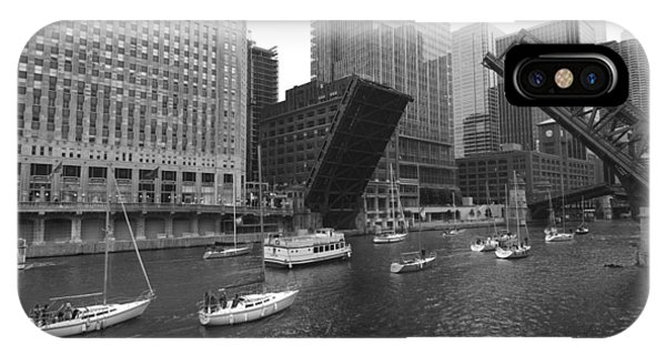 Open Bridges In Chicago IPhone Case