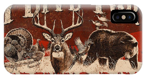 Hunting iPhone Case - Opening Day Sign by JQ Licensing