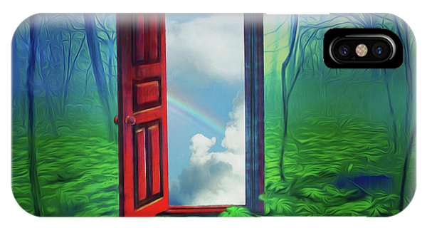 Opening Doors IPhone Case
