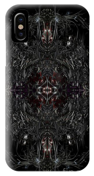 IPhone Case featuring the digital art Opening The Seal by Reed Novotny