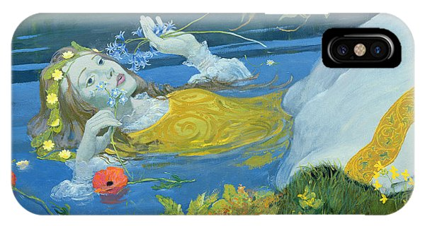 Accident iPhone Case - Ophelia by William Ireland