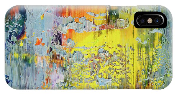 Impressionism iPhone X Case - Opt.66.16 A New Day by Derek Kaplan
