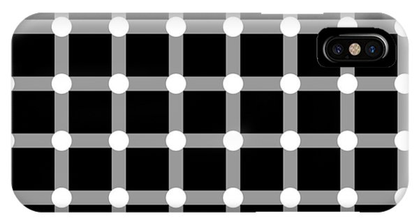 Optical Illusion The Grid IPhone Case