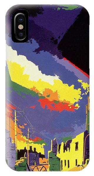 Damage iPhone Case - Oradour Sur Glane by Derek Crow