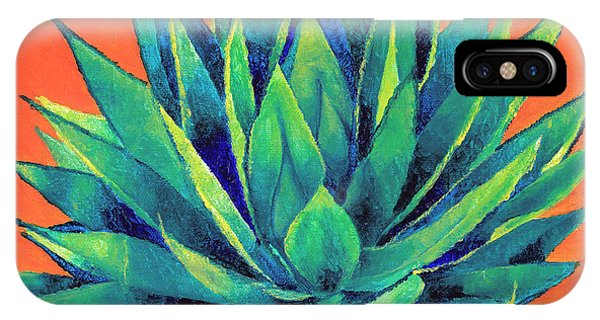Orange And Agave IPhone Case