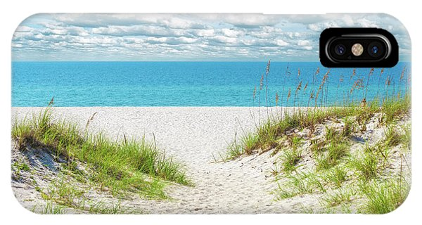 Orange Beach Al Seascape 1086a IPhone Case