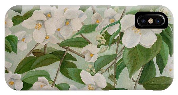 Orange Blossoms IPhone Case