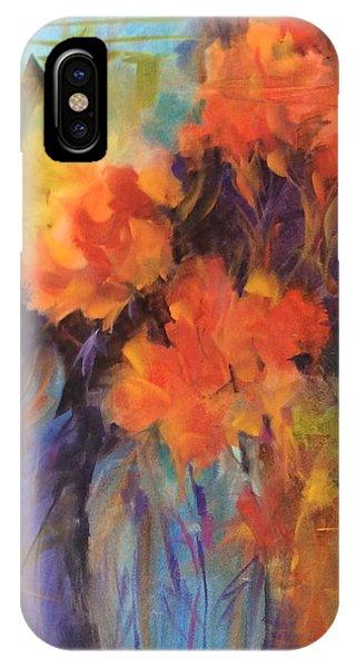 Orange Bouquet IPhone Case