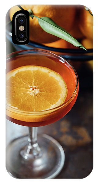 Orange iPhone Case - Orange Cocktail by Happy Home Artistry