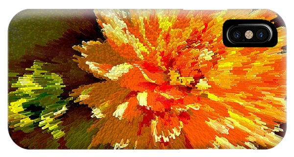 iPhone Case - Orange Dahlia by Kelly Holm