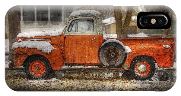 Orange Ford 150 IPhone Case