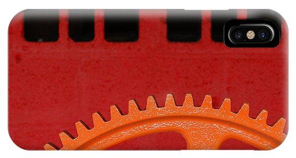 Orange Gear 1 IPhone Case