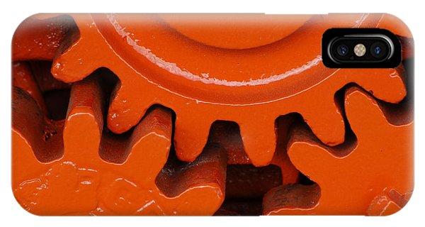 Orange Gear 2 IPhone Case