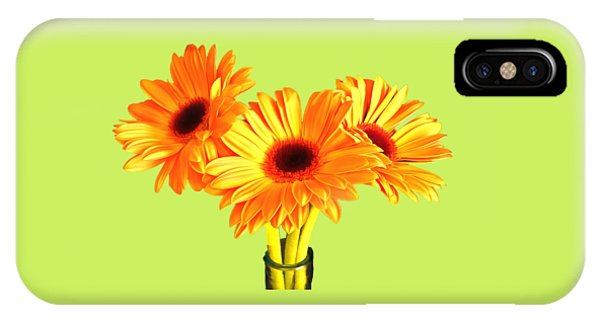 Orange Gerbera's IPhone Case