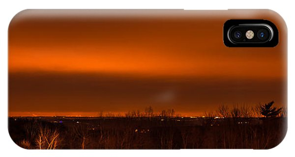 Orange Light IPhone Case