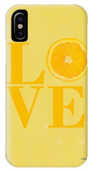 Grapefruit iPhone Case - Orange by Mark Rogan