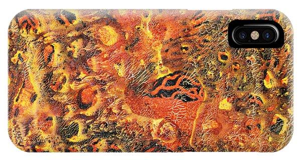 Orange Modern Art - Tiger Lily - Sharon Cummings IPhone Case