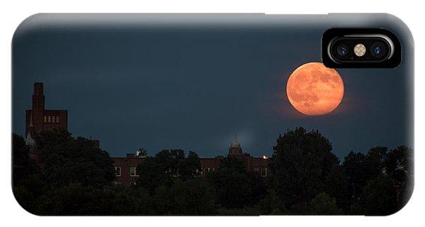 Orange Moon IPhone Case
