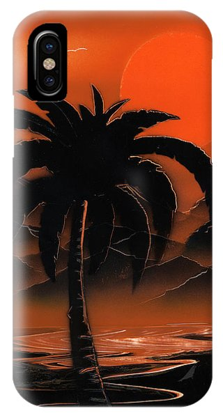Orange Oasis IPhone Case