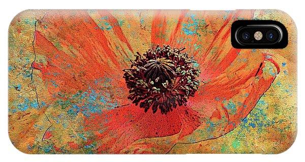 iPhone Case - Orange Poppy by Catherine Jeltes