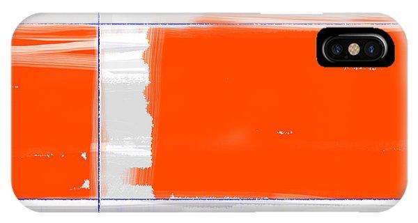 Orange Rectangle IPhone Case