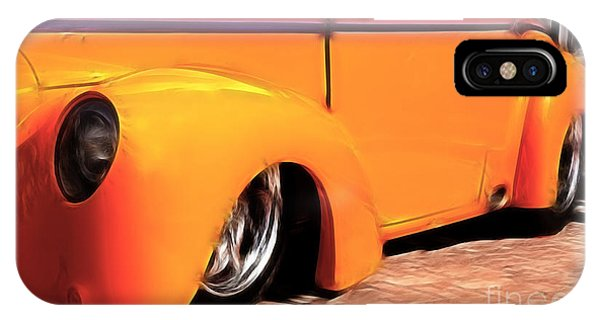 Orange Rush - 1941 Willy's Coupe IPhone Case