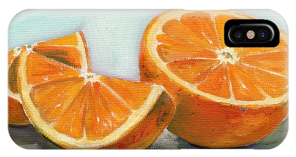 Beverage iPhone Case - Orange by Sarah Lynch