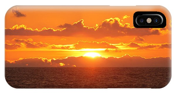 Orange Skies At Dawn IPhone Case