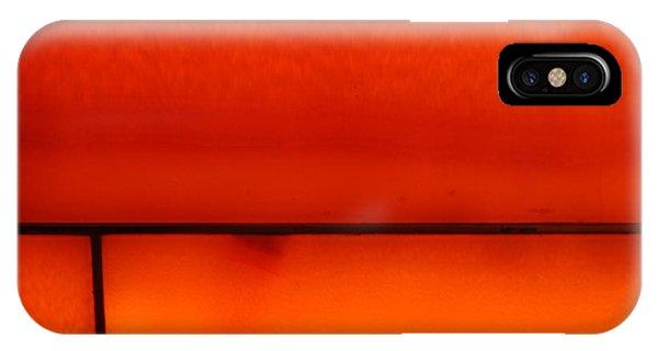 Orange Stone 4 IPhone Case