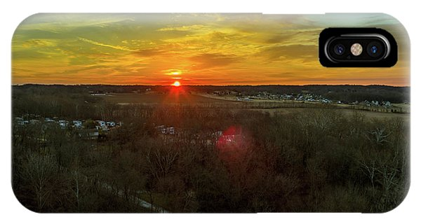 Orange Sunrise IPhone Case