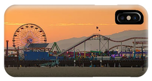 Orange Sunset - Panorama IPhone Case