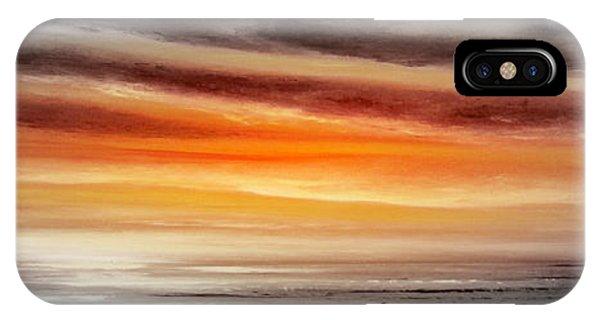 Orange Sunset - Panoramic IPhone Case