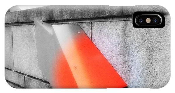 Orange Tipped Arrow IPhone Case