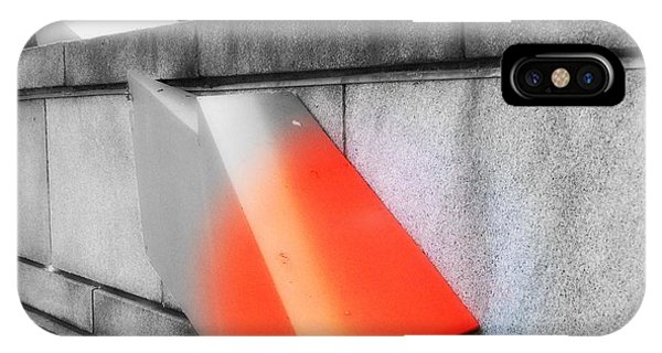 IPhone Case featuring the photograph Orange Tipped Arrow by Richard Ricci