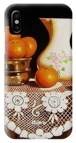 Orange You Sweet  IPhone Case