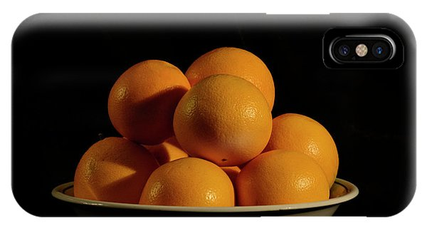 IPhone Case featuring the photograph Oranges by Angie Tirado