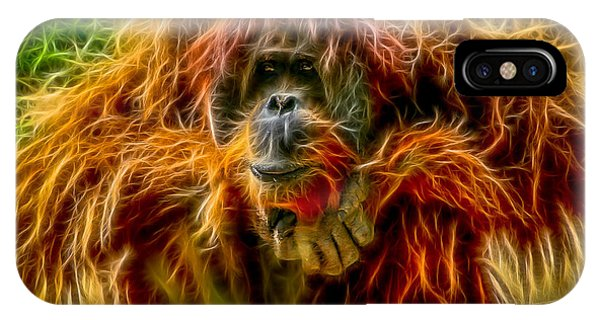 Orangutan Inspiration IPhone Case