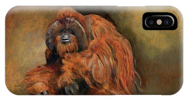 Orangutan Monkey IPhone Case