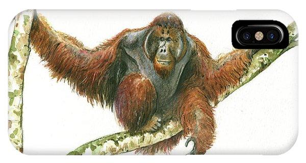 Orangutang IPhone Case