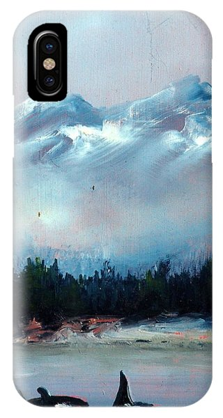 Orca Phone Case by Sally Seago
