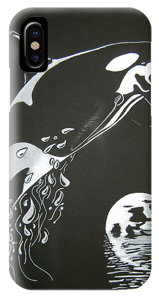 Orca Sillhouette IPhone Case