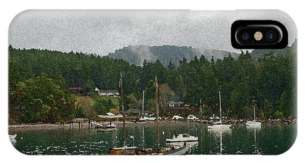 Orcas Island Digital Enhancement IPhone Case