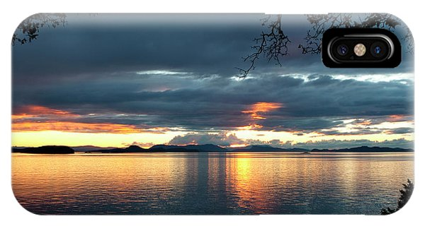 Orcas Island Sunset IPhone Case