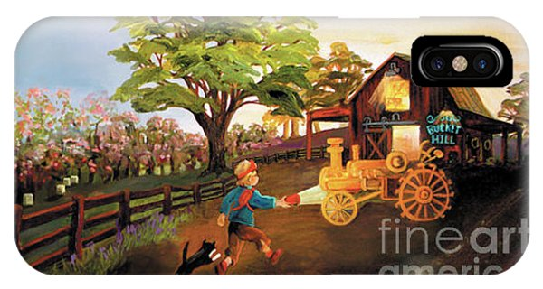 Orchard And Barn IPhone Case