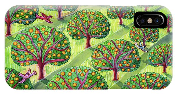 Orchard iPhone Case - Orchard by Jane Tattersfield