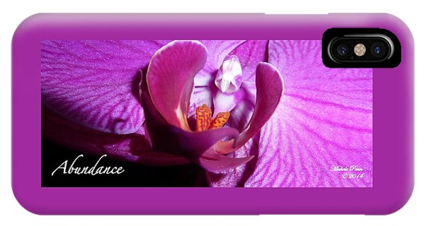 Orchid Abundance IPhone Case