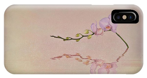 Orchid iPhone Case - Orchid Blooms And Buds by Tom Mc Nemar