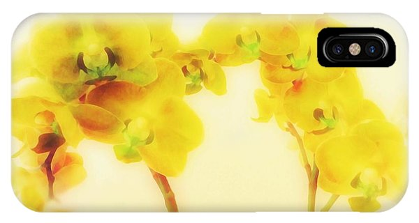 Orchid Collection 'summer' IPhone Case